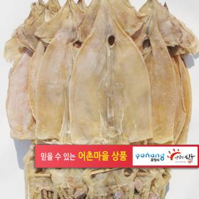 건오징어 20마리 1.3kg