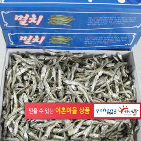 찍음멸치 500g (국산)