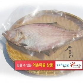 참가자미 제수용(大)27~29cm.3마리.1팩10000원(국산) 420g.(3팩이상묶음배송)